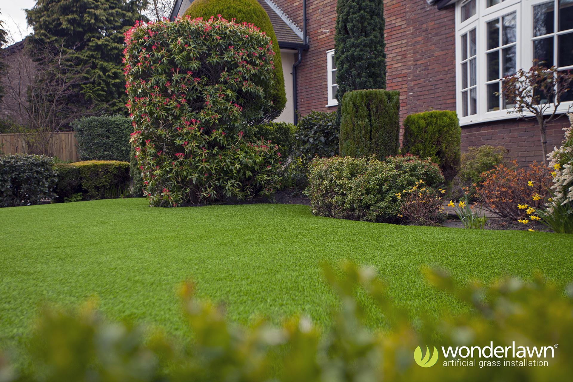 An artificial grass franchise